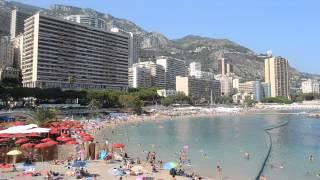 アキーラさん海水浴①モナコ公国・ビーチ,beach,Monaco