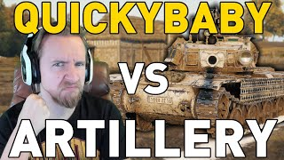 QUICKYBABY VERSUS ARTILLERY in World of Tanks!