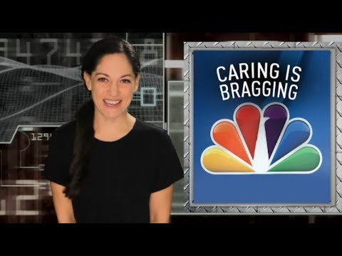 "Comcast uses NBC network to promote its corporate ""Comcast Cares Day"""