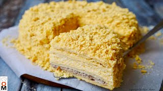 Закусочный Торт НАПОЛЕОН сама нежность Snack Cake NAPOLEON very tender