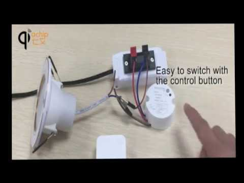 How To Use Self Powered Switch Console Remote Control Socket for Lighting Fan Door Opener & How To Use Self Powered Switch Console Remote Control Socket for ...