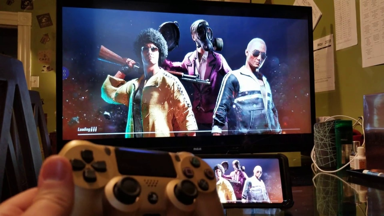 How To Play Pubg Mobile On Tv With Ps4 Controller Or Any Other