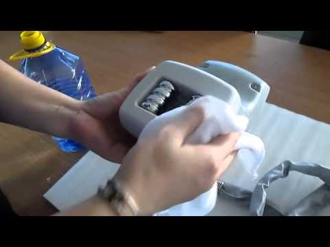 How To Clean The Body Handle Of The Velashape Machine
