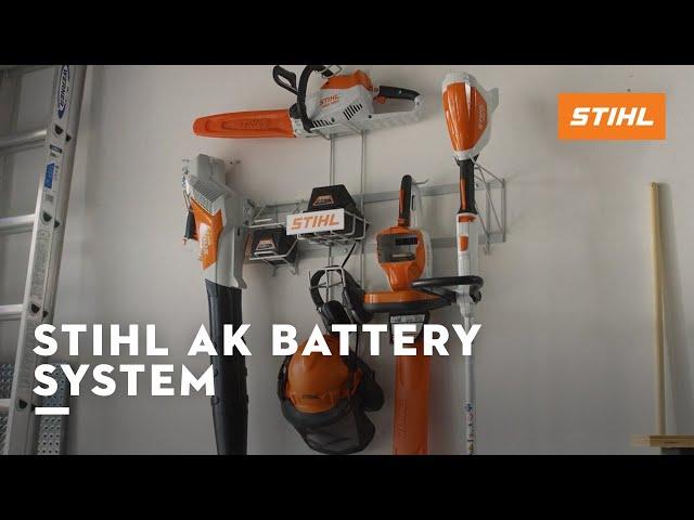STIHL AK Series: Battery Power. Made By STIHL.