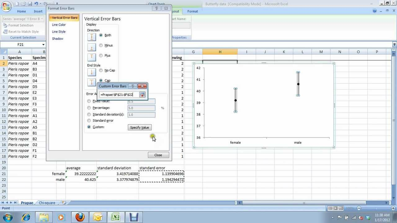 4  how to create a pseudo-boxplot in excel