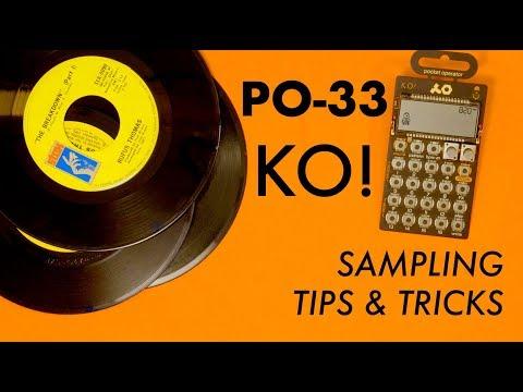 PO-33 KO! Drum Sampling Tips and Tricks!