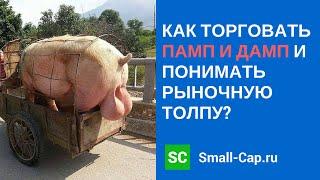 Как торговать памп и дамп и понимать рыночную толпу? Веб Small-Cap.ru от 04/01/2014