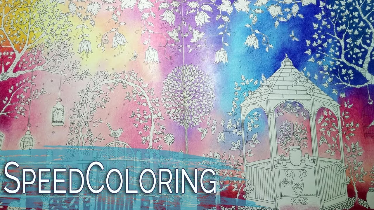 Secret garden johanna basford part 1 coloring a - Watch the secret garden online free ...