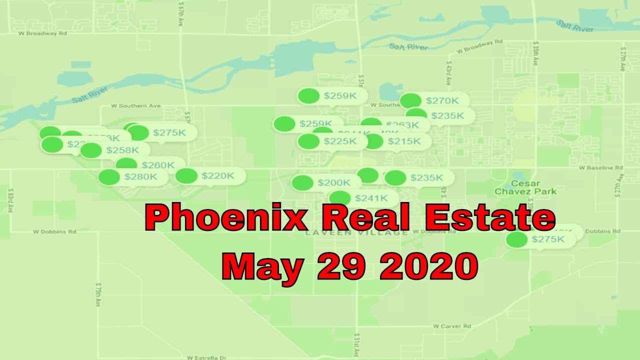 Phoenix Real Estate News May 29th 2020