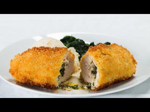 Garlic Butter-Stuffed Chicken! 🍴😛