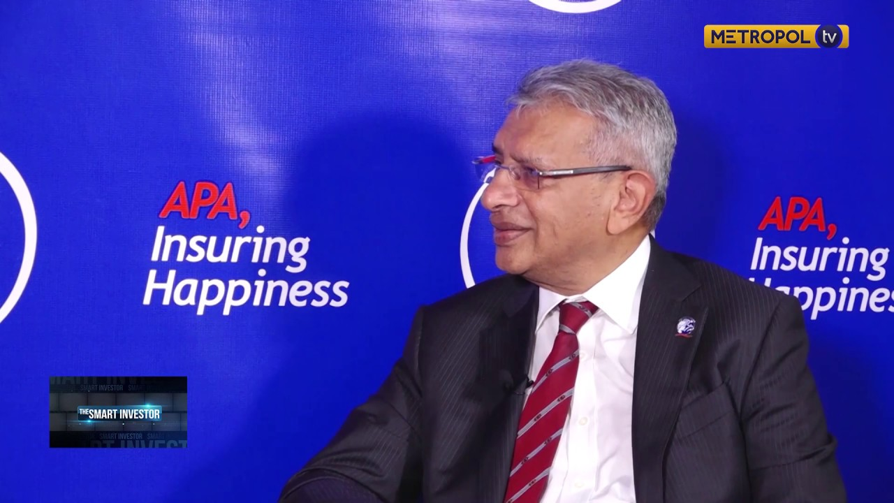 Ashok Shah, Group CEO APA Insurance talks about the journey ...
