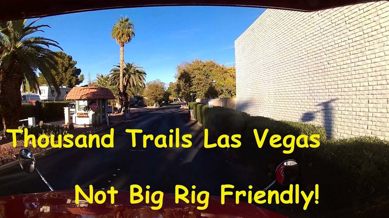 las vegas thousand trails full time rv living big. Black Bedroom Furniture Sets. Home Design Ideas