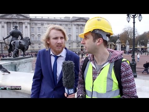 Bobby Mair gets a builder's quote on Buckingham Palace - News Thing