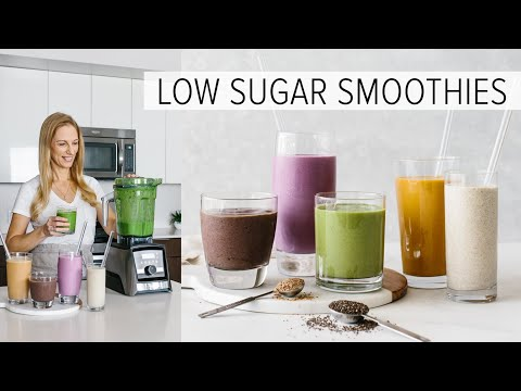 5 LOW SUGAR SMOOTHIES   healthy smoothies to power your day Healthy Food Videos SNACK FLICKS