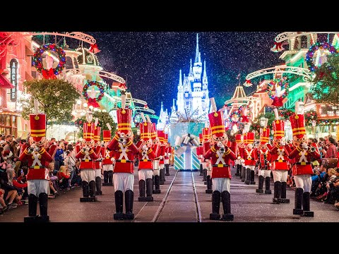 [4k]-once-upon-a-christmastime-parade---2019-mickey's-very-merry-christmas-party