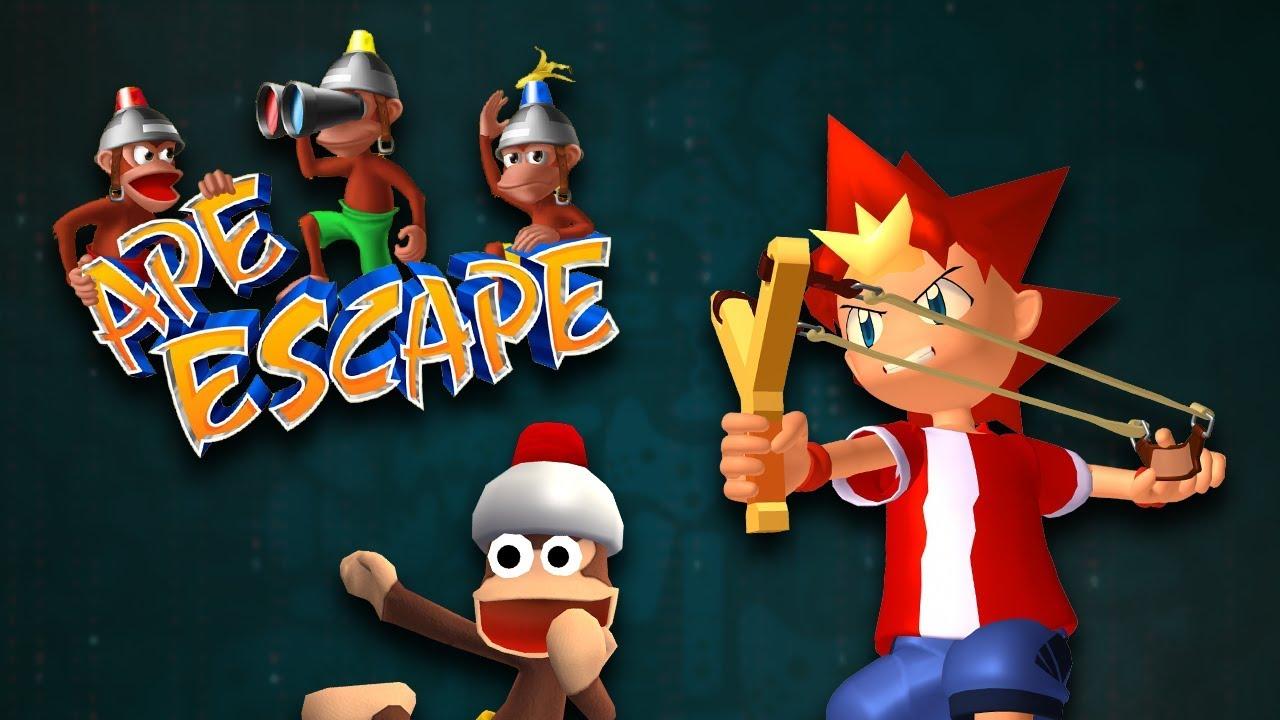 PRESS START - Ape Escape