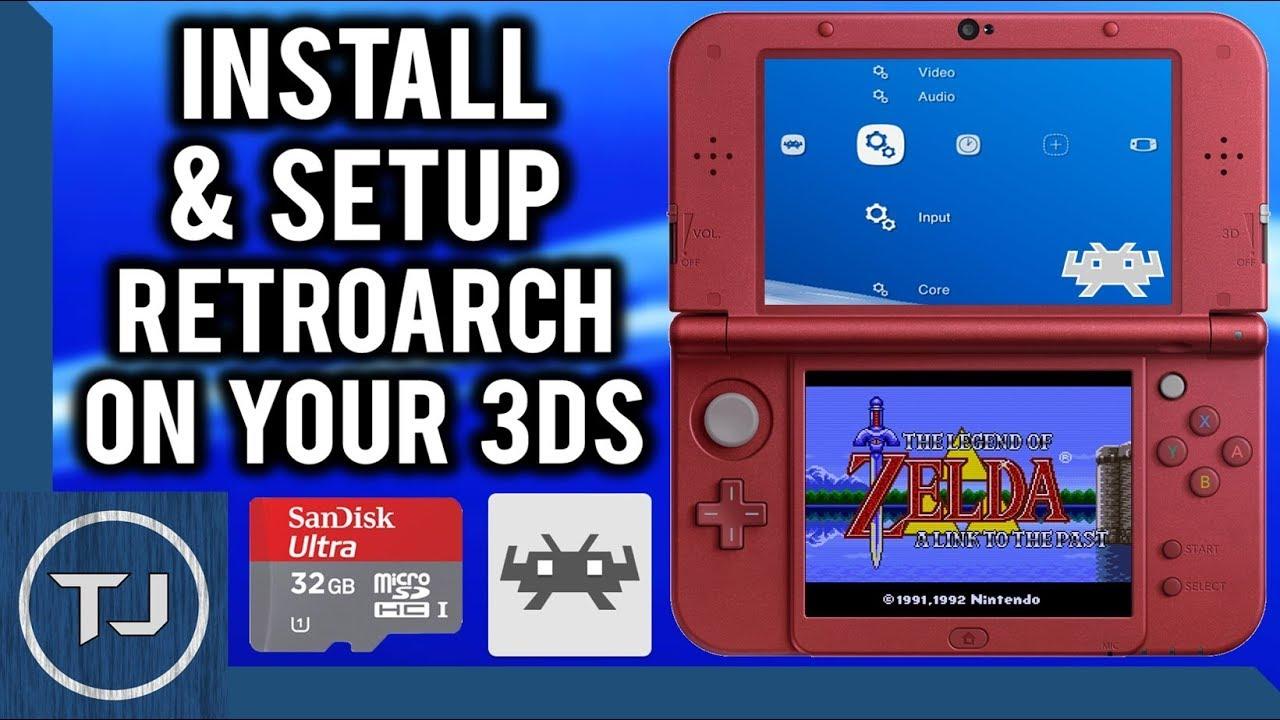 3DS Install & Setup RetroArch!