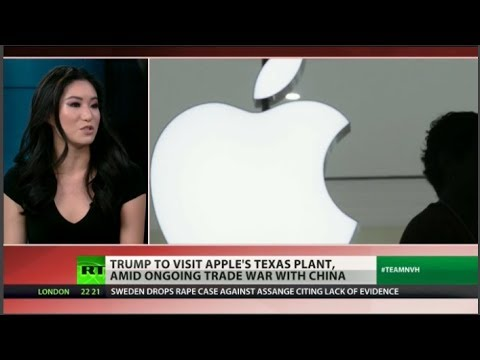 Why is Trump getting cozy with Apple?