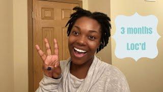 3 Month Starter Loc Update | Naomi Onlae