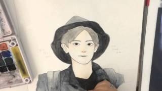 Speed Painting ChanYeol