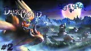 Dark Cloud (PS4) - Twitch Stream - Part 2 - Wise Owl Forest Time