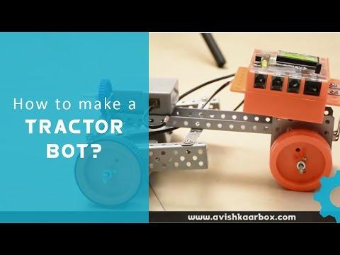 Lets Avishkaar #4 : How to make Tractor Robot