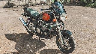Жор масла, треск, стук?.. Это Норма! Тест драйв Yamaha XJR1200 #Докатились!
