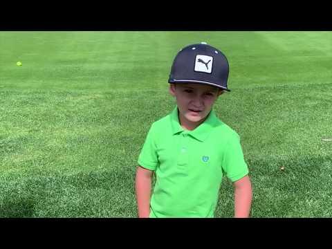 Arccos 360 5yr old golfer Roman James Cravalho   Arccos Golf Shot Tracking