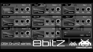 DSK DrumZ 8bitZ - Free VST