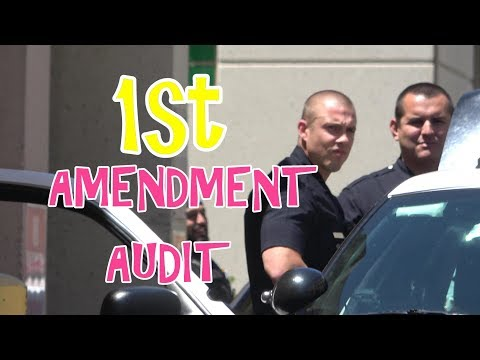 1ST AMENDMENT AUDIT - LAPD PROPERTY ROOM - THREATENED WITH ARREST