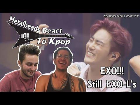 Metalheads React To Kpop | EXO LIVE Performances Unfair + Acoustic Medley