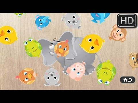 [hd]-animals-puzzle-for-kids---dog,-sheep,-bee,-monkey,-owl,-fish-&-more