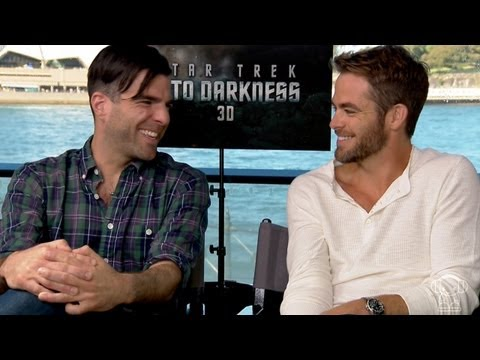 UNCUT interview with Star Trek's Chris Pine and Zachary Quinto
