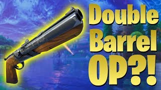NEW Double Barrel Shotgun! OP? Testing and Analysis Impressions! (Fortnite Patch)