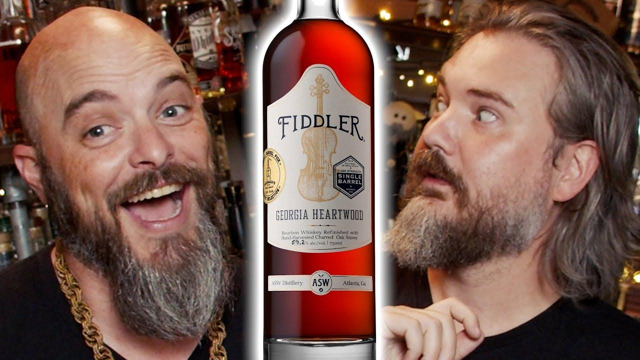 Fiddler Georgia Heartwood Bourbon [Charred Oak Stave Finish] Review