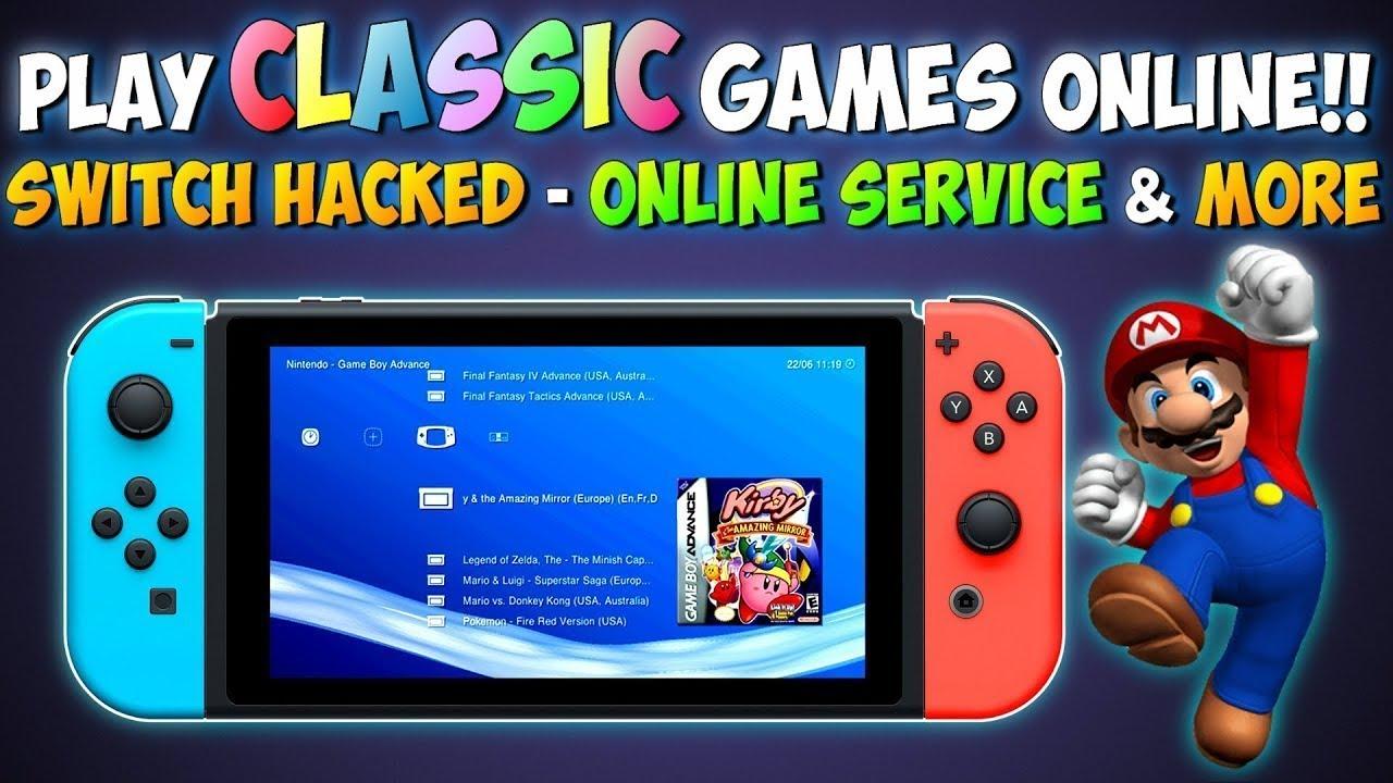 Nintendo Switch Hacked Emulators On Switch Play Retro