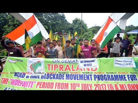 IPFT end Highway blockade: Present political move of Tripura.#TokkoJuktiGoppo Telecast On 20/7/2017