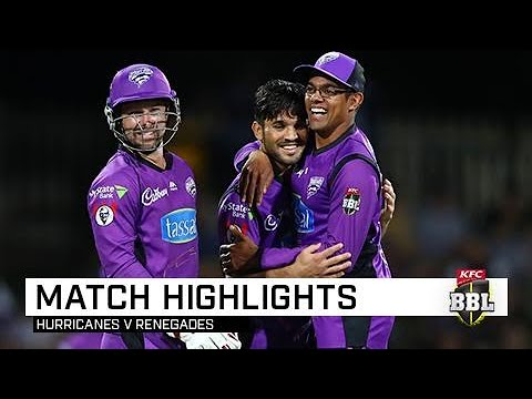 Hurricanes lock in home semi-final | KFC BBL|08 Mp3