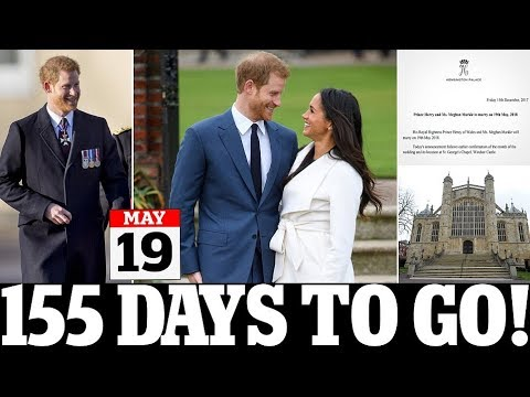 When are Prince Harry and Meghan Markle wedding? Kensington Palace ANNOUNCED