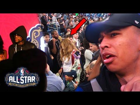 WTF BEYONCE & FLOYD! CRAZY 2017 NBA All-Star Weekend w/ Kick Genius, CashNasty, Qiasomar & MORE!