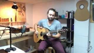 Bouchereau Guitars - Moonchild guitar played by Simon Guérin