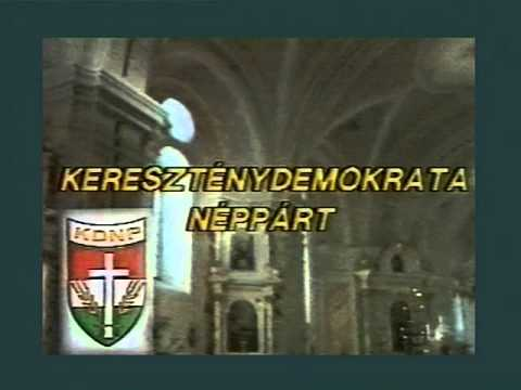 KDNP kampányfilm 1990
