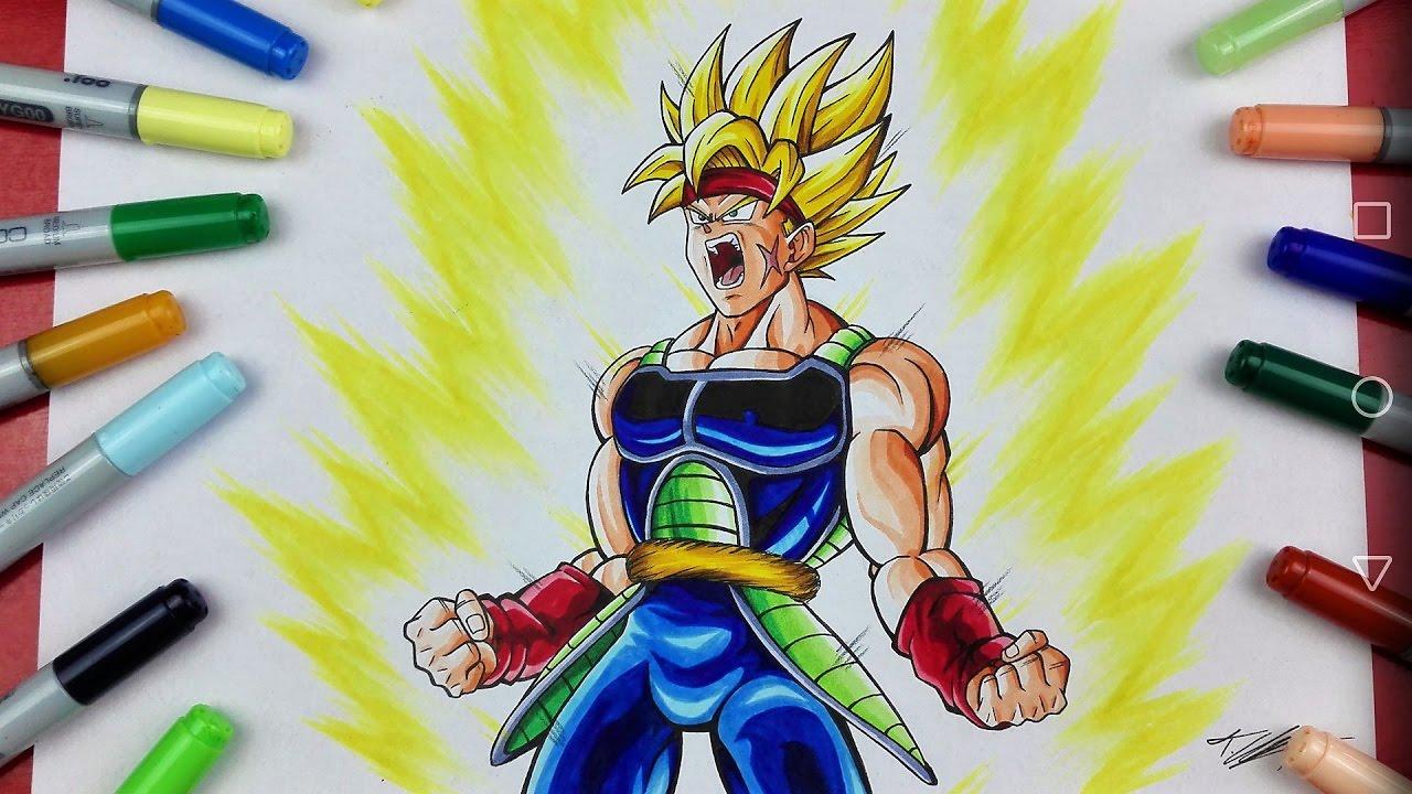 Drawing BARDOCK Super Saiyan | Dragonball Z | TolgArt ...