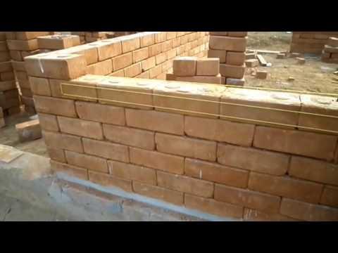 Interlocking Brick House Construction in Sierra Leone