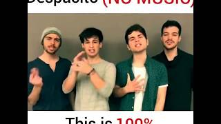 Video Despacito l Mash up l group song (cover) : no music download MP3, 3GP, MP4, WEBM, AVI, FLV Mei 2018