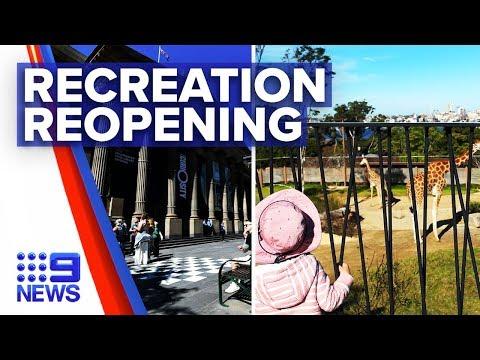 Coronavirus: NSW libraries, museums and zoos open today | Nine News Australia