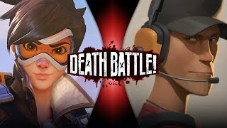 Tracer VS Scout | DEATH BATTLE! (Overwatch VS Team Fortress 2)(There's a new scout in town, and the old cream of the crop has some competition! Can the Scout's experience and wacky tactics take down the high-speed ..., 2016-09-07T13:00:05.000Z)