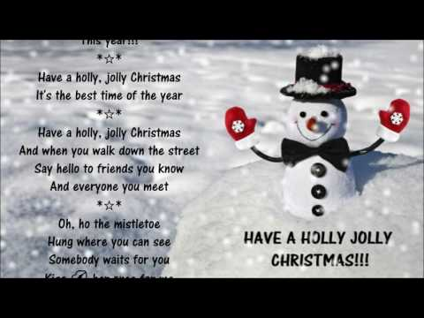 Have A Holly Jolly Christmas *☆* Burl Ives