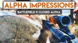 Battlefield 5 Alpha Impressions ► Battlefield V Gameplay