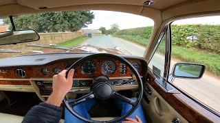 1980 Rolls Royce Silver Shadow II Auto - POV Test Drive & WalkAround